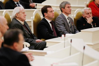 На заседании научно-практической конференции «Великие реформы и модернизация России».