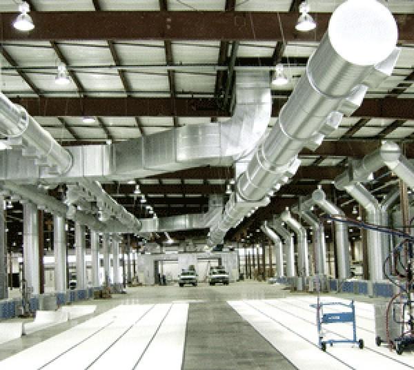 Вентиляция и кондиционирование производственных помещений