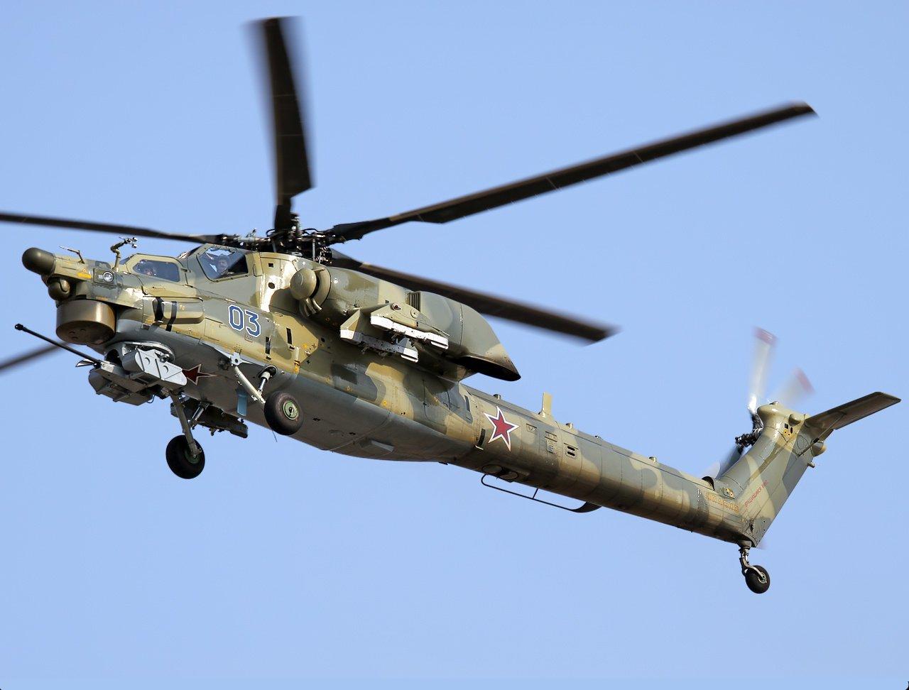 Вертолеты марки МИ