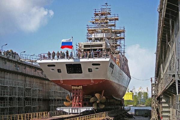 Shipbuilding in RUSSIA