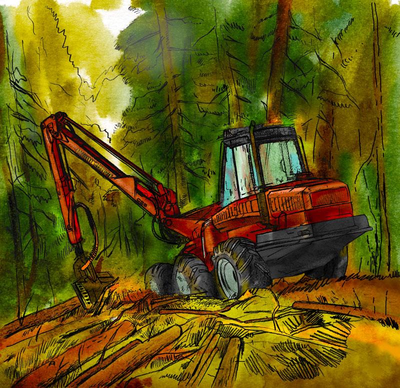 Машины и механизмы лесного хозяйства