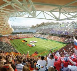 Проект футбольного стадиона